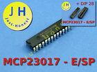 MCP23017-E/SP mit/ohne DIP28 I2C 16 I/O Expander ARDUINO kompatibel
