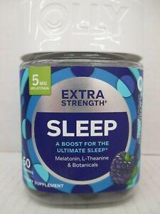 Olly Sleep 5mg Melatonin Blackberry Zen Flavor 50 Gummies Exp