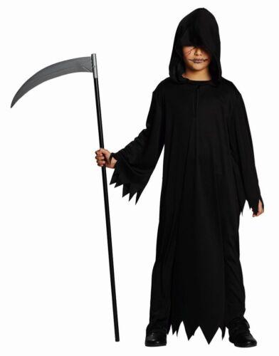 Rub Kinder Kostüm schwarzes Gewand Karneval Halloween