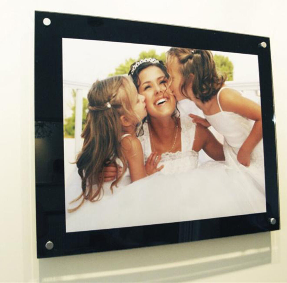 Picture photo frame A2  60x40 cm  24x16  16x24 All Farbes Cheshire acrylic baby