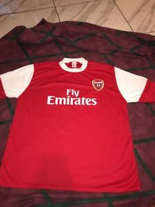 100% authentic dddba 88b8a Details about Cesc Fabregas Arsenal Jersey UK made Size Medium Men's  Unofficial Pro Futbol