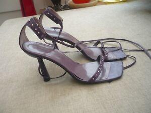 dettaglio 6 Millen insolito viola 39 elegante a forma tacco Karen sandali gioiello di TxZw1qBBX