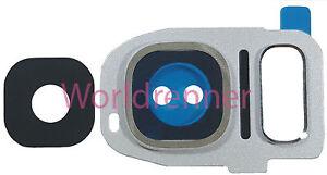 Lente-Camara-W-Cubierta-Camera-Lens-Frame-Cover-Bezel-Photo-Samsung-Galaxy-S7