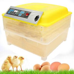 48/96 Digital Egg Incubator Hatcher Automatic Egg Turning Temperature Control