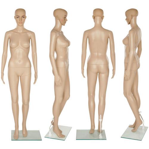 Mannequin de vitrine de couture support de verre modèle Proportions réalistes