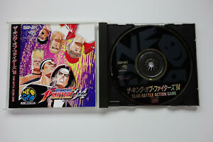 THE-KING-OF-FIGHTERS-94-KOF-SNK-Neo-Geo-CD-JAPAN