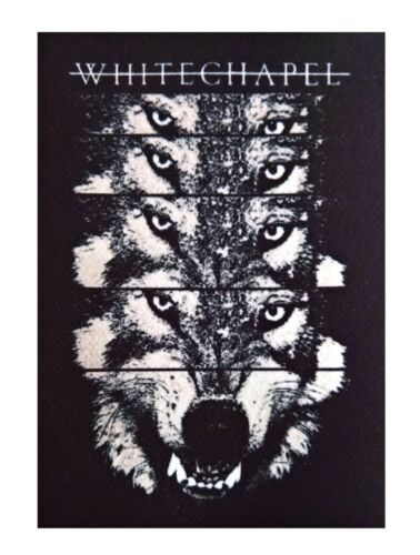 Whitechapel patch DIY printed hard rock death metal metalcore thrash deathcore
