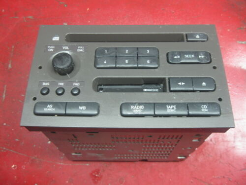03 04 05 02 00 01 99 saab 9-5 oem CD /& cassette player radio stereo 5038138