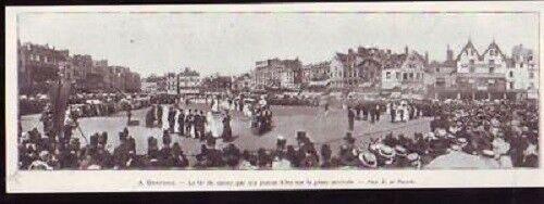 1908 -- Beauvais Tir De Canon Par Des Jeunes Filles Les Produits Sont Vendus Sans Limitations