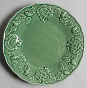 Bordallo-Pinheiro-TURKEY-GREEN-Salad-Plate-8646401