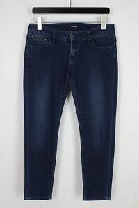 THE KOOPLES SHORT FIT Women's W30 L27 Stretchy Low Waist Slim Jeans 36013-GS