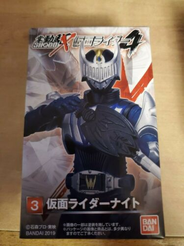 BANDAI SHODO-X Kamen Rider Ryuki 4 Action Figure Candy Toys