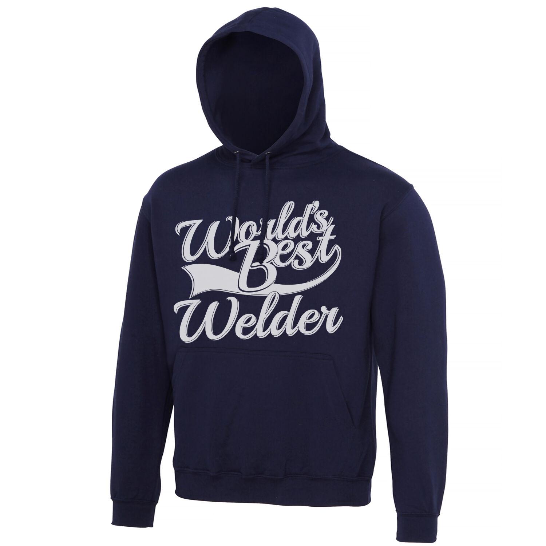 World's Best Welder Gift Adults Mens Ladies Womens Unisex Hoodie