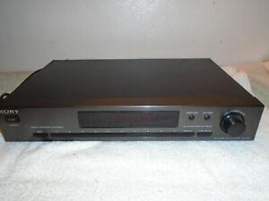 Sony-ST-JX521-Quartz-Lock-Digital-Synthesizer-FM-AM-Stereo-Tuner-Radio-Receiver