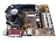 INTEL-DG41WV-Core-2-Duo-E8400-4GB-DDR3-CPU-Fan-Ram-Paquete-combinado-de-placa-madre miniatura 1