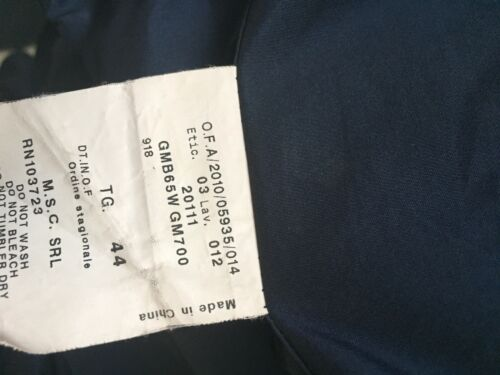 Collezioni impermeabile Sz Armani Splendida 8 Us corta giacca qzcAU1