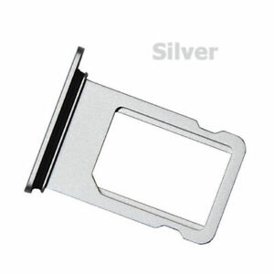 Silver-For-Apple-iPhone-8-4-7-034-Sim-Card-Holder-Slot-Sim-Card-Tray-Replacement