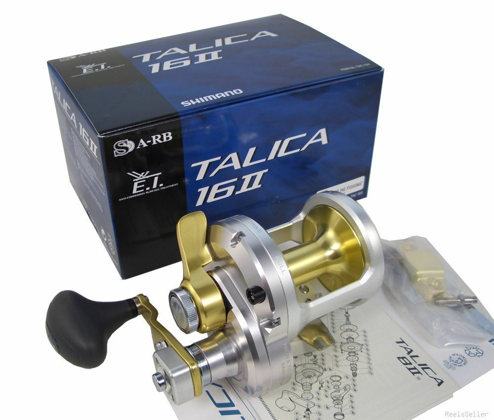 New Version Shimano TALICA 16 II 16II 2-Speed Fishing Reel  1-3 Days delivery