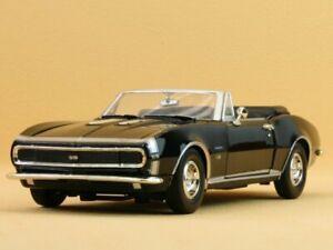 Chevrolet-Camaro-SS-1967-Black-Motormax-1-24