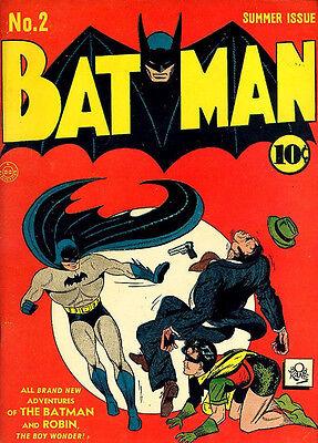 """Batman Comics #2  2nd Joker   Golden  Age  (Fridge Magnet 4""""x6"""" )   Decor"""