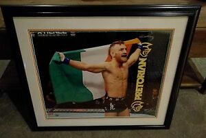 Conor-McGregor-Signed-16x20-Photo-034-1st-WIN-034-UFC-Champion-MMA-PROOF-TMT-Floyd
