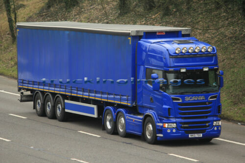 TRUCKINGIMAGES TRUCK PHOTOS 120 LISTED SCANIA CURTAINSIDER TRUCKS