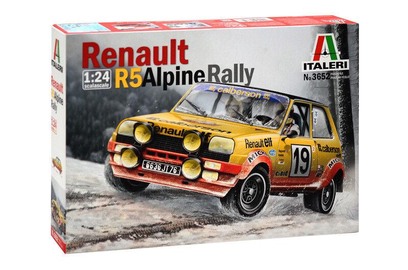 Italeri 1 24 Renault R5 Alpin Rally
