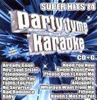 Various Artists Party Tyme Karaoke Super Hits 14 CD