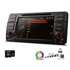 "for BMW E46 Radio DVD GPS Navigation System 1 DIN Car Stereo 7"" NAVI 1080P Video"