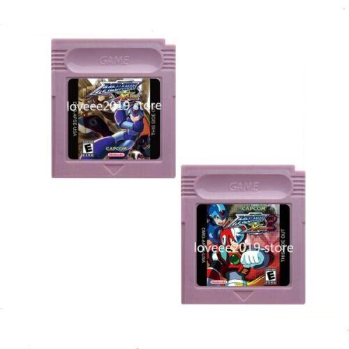 Game Color Gbc Cartucho Boy Console Mega Man Xtreme /& Xtreme 2