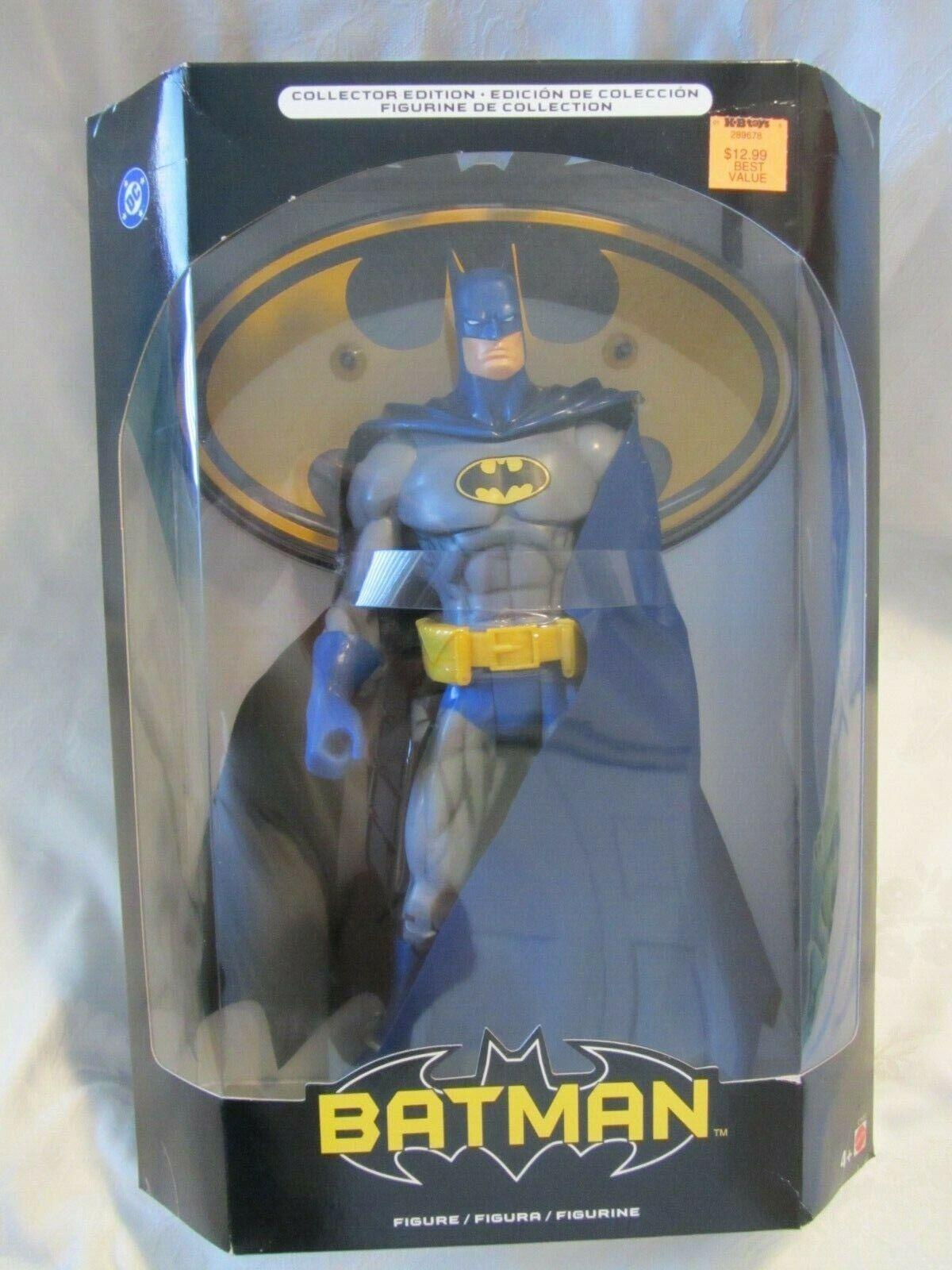 2004 MATTEL DC COMICS 12 IN BATMAN FIGURE COLLECTOR EDITION NEW IN SEALED BOX