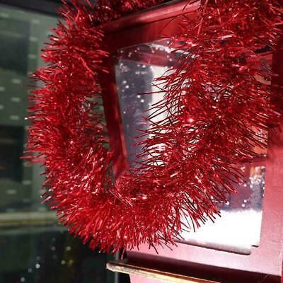 2M Lametta Weihnachtsbaumschmuck Weihnachtsgirlande NEU G4J0