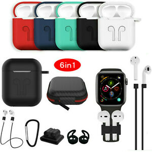 For-Apple-Airpods-Case-Silicone-Protective-Cover-Skin-Holder-For-Airpod-Earphone