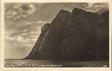 1930s postcard : nordkap europas nordligste pynt