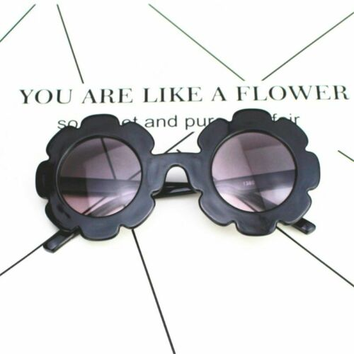 Cute Kids Sunflower Sunglasses ANTI-UV Sun Glasses Summer Outdoor Toy Boys Girls