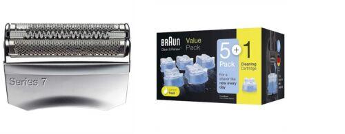 1 Pack CCR 5 1 Kartruschen Braun Schersystem 70S zu Braun Rasierer Series 7