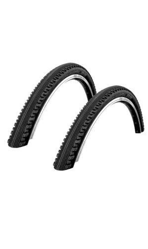 Pair Schwalbe 26 X 2.10 New Race Guard Hurricane Tyres
