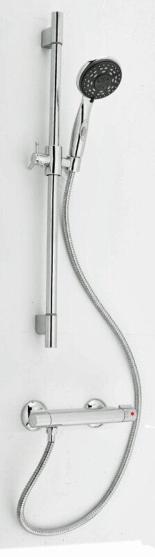 Duschthermostat Brausegarnitur Brauseset Komplett Set Armatur Dusche Brause Bad