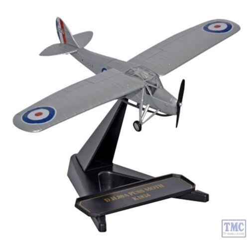 RAF Trainer 1931 72PM002 Oxford Diecast Puss Moth