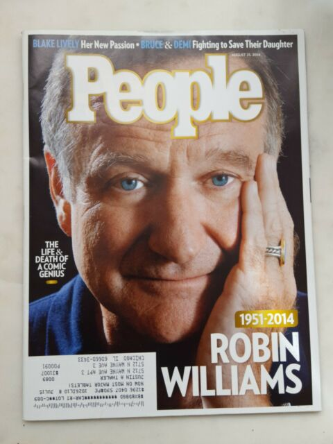 People - Robin Williams August 25th, 2014 Back Issue