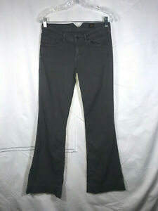 Citizens-of-Humanity-Size-27-4-Gray-Wide-Leg-5-Pocket-Pants-32-034-Inseam-Made-USA