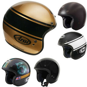 Arai-Freeway-Free-Way-Classic-Open-Face-Motorcycle-Helmet-All-Colours-amp-Sizes