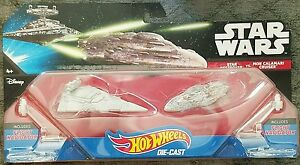 Star Wars Starship Star Destroyer Mon Calamari Cruiser Vehicle Toy 2 Pieces