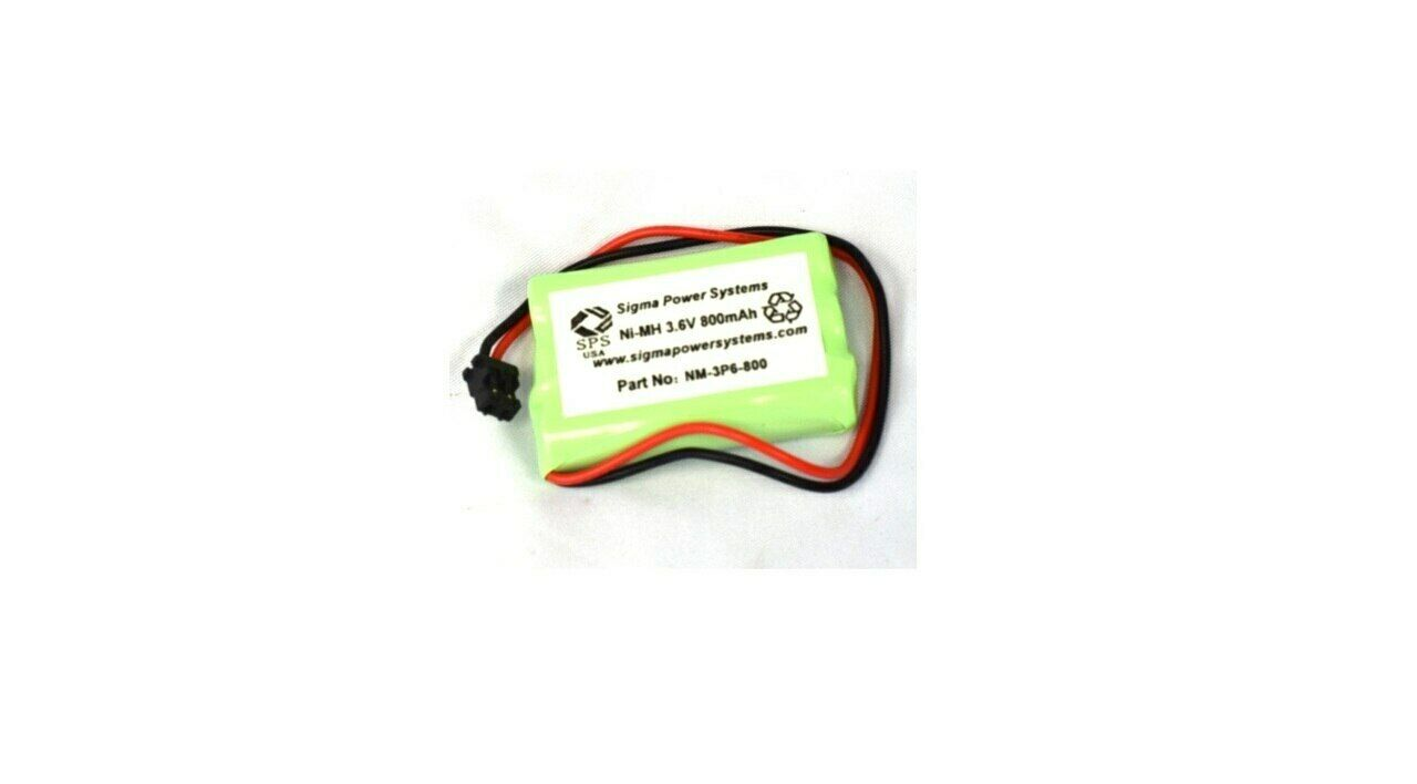 SPS Brand 3.6V 800 mAh Replacement Battery for CBC446 Cordless Phone (1 PACK)