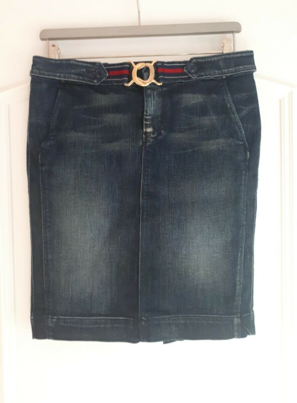 7 Seven For All Mankind Toller Jeansrock, Gr. 29, Top Zustand