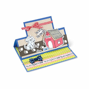 Cute by Stephanie Barnard Framelits Die Set with Stamps Doggone