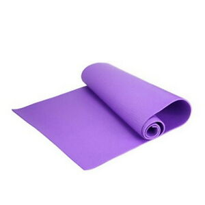 6mm Thick Non-Slip Yoga Mat Exercise Fitness Lose Weight 68x24x0.24inch CL