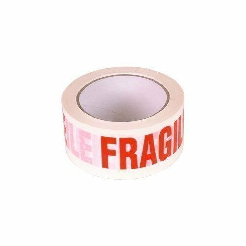 BROWN FRAGILE,HANDLE WITH CARE PACKING TAPE+TAPE GUNS 48 /& 75mm 3M CLEAR BUFF