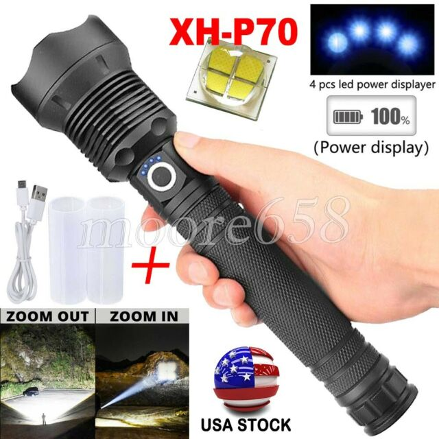 Portable Mini LED Flashlight Torch Adjustable Zoom Focus Torch Lamp Penlight/_BJ