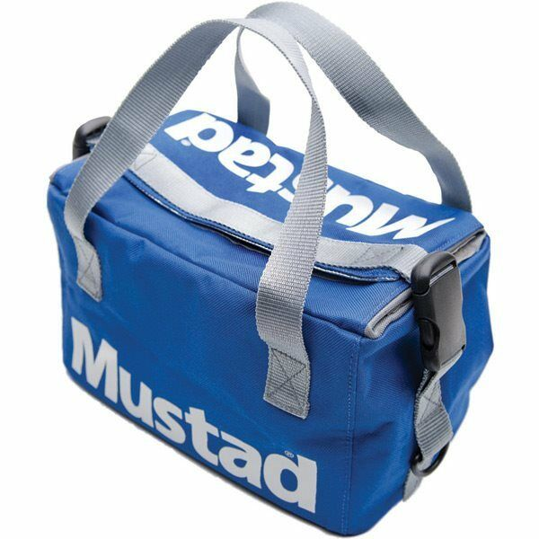 Mustad Cool Bag Grey   bluee Carryall Lugage Outdoors Sea Fishing S4004